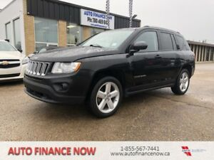 2012 Jeep Compass 4WD Limited LOADED BLACK ON BLACK LEATHER 4WD