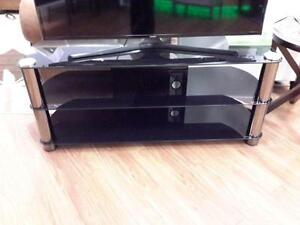 *** NEW *** CORLIVING METAL TV STAND   S/N:51281435   #STORE216