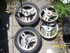 Honda Spree  Scooter wheels