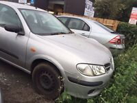 Nissan Almera AUTOMATIC Px to clear spares or repair No MOT