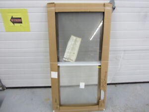 """Window - New - 25.5"""" by 49"""" - With Screen"""
