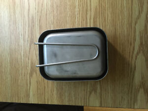Camping Mess Tins (Dutch Army) stainless steel Kingston Kingston Area image 2