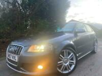 2007,07 AUDI A3 S3 TFSI QUATTRO 3DR,84000 MILES FULL SERVICE HISTORY