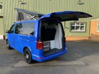 2019 VW T6 Summer Blue Camper Van, Campervan Brand New Conversion