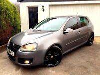 **CLEAN** 2008 VOLKSWAGEN VW GOLF GT TDI 2.0 140 GREY 5 DOOR HATCH MANUAL