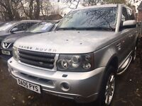 LANDROVER RANGE ROVER SPORT 2.7 TDV6 HSE DIESEL AUTOMATIC LEATHER SEATS SAT NAV DVD