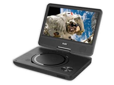 "D-JIX PVS 906-20 Lecteur DVD portable 9"" rotatif - Noir"