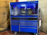 Snap-on tool box