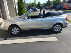 2000 V.W cario convertible power everything