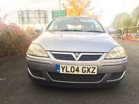 2004 Vauxhall Corsa Design 1.2 Auto Dual Fuel Gas Lpg Full MOT Very Economical.