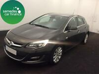 ONLY £162.58 PER MONTH GREY 2013 VAUXHALL ASTRA 1.6 ELITE 5 DOOR PETROL MANUAL