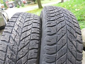 4 GM Winter Tires on Rims - Reduced