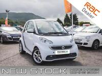 2012 SMART FORTWO 1.0 MHD Pulse Softouch 2dr Auto