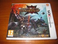 monster hunter generations 3ds brand new
