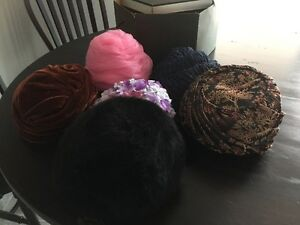 Lot of 6 Vintage Hats $10 for all
