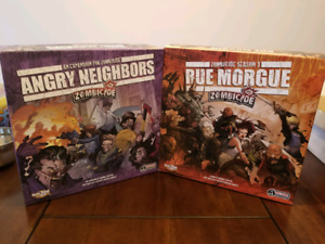 Zombicides - Rue Morgue & Angry Neighbors
