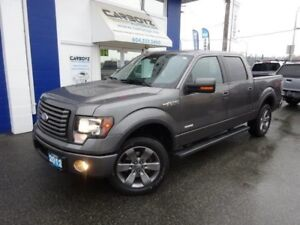 2012 Ford F-150 FX4 Crew, Nav, Sunroof, Leather, EcoBoost