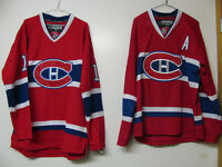 MONTREAL CANADIENS GALLAGHER AND SUBBAN HOCKEY JERSEYS SIZE L