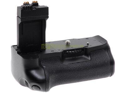 Impugnatura verticale per Canon EOS 550D, 600D, 650D. Come Canon BG-E8.