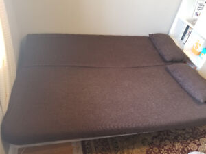 IKEA Queen bed and Couch