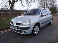 Renault Clio 1.4 16v ( a/c ) Dynamique 2004/54 only 54,000 miles service history