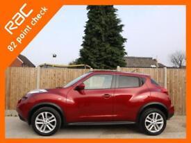2011 Nissan Juke 1.6 Acenta Premium Auto Sat Nav Rear Cam Bluetooth Only 29,000