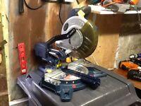 GMC 1400w compound sliding mitre / chop saw