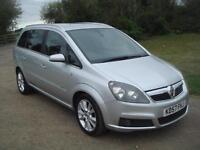 Vauxhall/Opel Zafira 1.9CDTi 16v ( 150ps ) 2007.5MY Design 108k, JUST SERVICED,