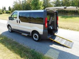 2012 Vauxhall Vivaro 2.0 Cdti 6 SEATS Wheelchair Accessible Disabled Vehicle WAV