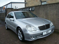 06 06 MERCEDES C180K AVANTGARDE SPORT SE AUTO 4DR LEATHER ALLOYS CRUISE