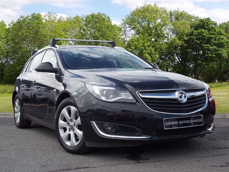 Vauxhall INSIGNIA 2.0 CDTi ecoFLEX SRi Sport Tourer 5dr (start/stop) (black) 2015