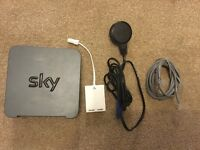 SKY SR102 Router and Cables