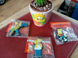 Simpsons pot and cactus