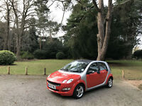 2006 Smart forfour 1.1 Coolstyle 5 Door Hatchback Red/Silver
