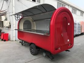 Catering Trailer Pizza Trailer Hot Food Burger Van 3400x1650x2400
