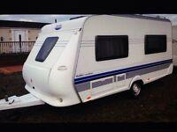 Hobby excellent caravan 2007 fix bed 1150 kg