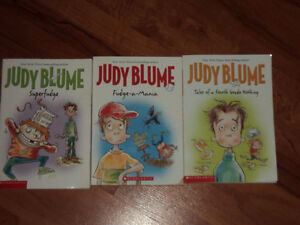 Collection of Judy Blume Books