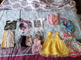 Girls 9-12months clothes bundle