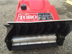 Snow Blower Toro S 200 with electric starter   -for sale