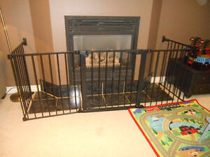 Safety Gate  for Fireplaces