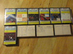 Commodore VIC-20 VIC 20 Data Cassette Video Game Lot Computer PC