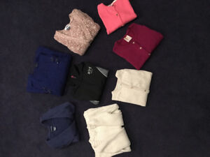 Polo Abercrombie Zara assorted sweaters in excellent condition