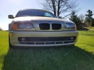 Bmw 325ci 2001 Gold