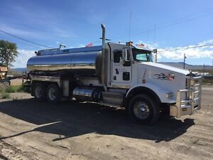 Water truck for rent/hire