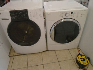 KENMORE FRONT LOAD WASHER DRYER