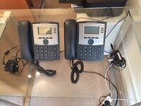Two Cisco 303 IP handsets