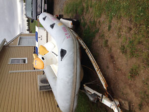 Used boat and trailer