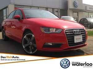 2015 Audi A3 2.0T Komfort Quattro - AWD AND WINTER READY!