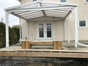PATIO COVER( Reduced)NEED IT GONE!!
