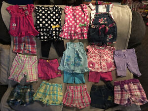 Girls Size 12 months Summer Clothing LOT